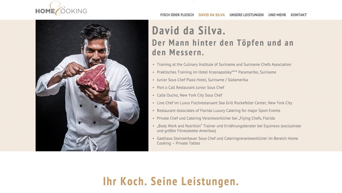 Referenz-Screenshot von Home-Cooking